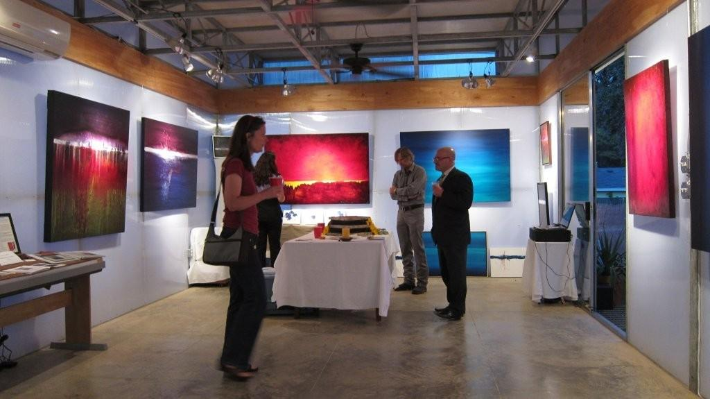 Interior shot of Leanne Venier Gallery - Copy2