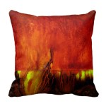 Pillow - Vibrant RED - 2 sided