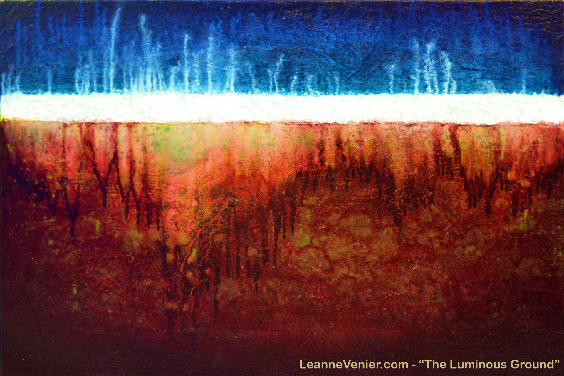 THE LUMINOUS GROUND by Leanne Venier_ScreenSaver