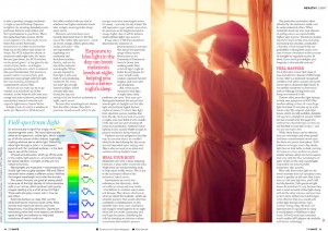 TOP-SANTE-UK-MAGAZINE---SHINE-ON-article-quoting-Leanne-as-Color-and-Light-expert-2
