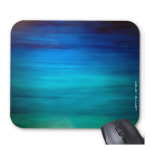 Teal mousepad