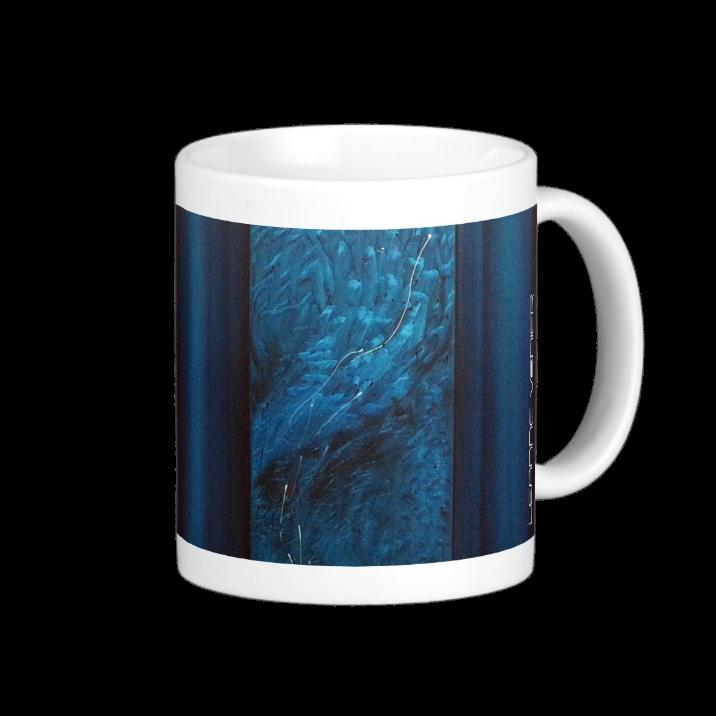 Healing Colors Teal Coffee Mug