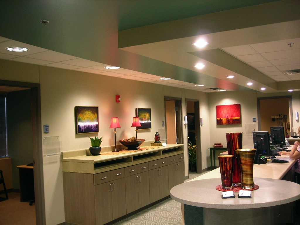 Installation of 5 paintings in Dr. Timothy Hopkins Shannon Medical Center Neurosurgery Offices