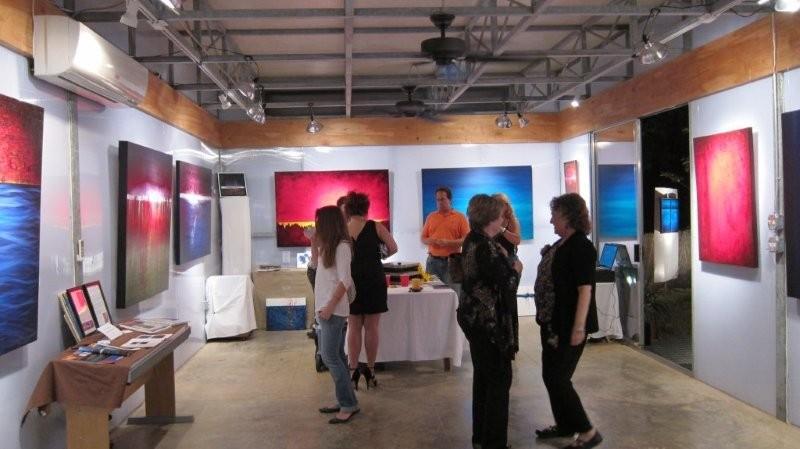 Leanne Venier gallery interior guest shot