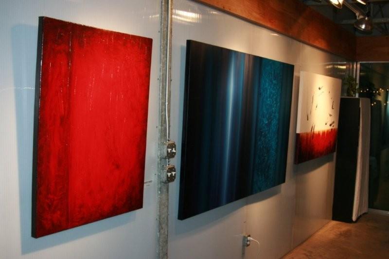 Leanne Venier gallery interior