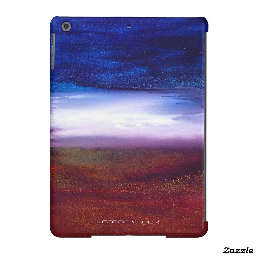 Ipad case – Opening – blue, red, white