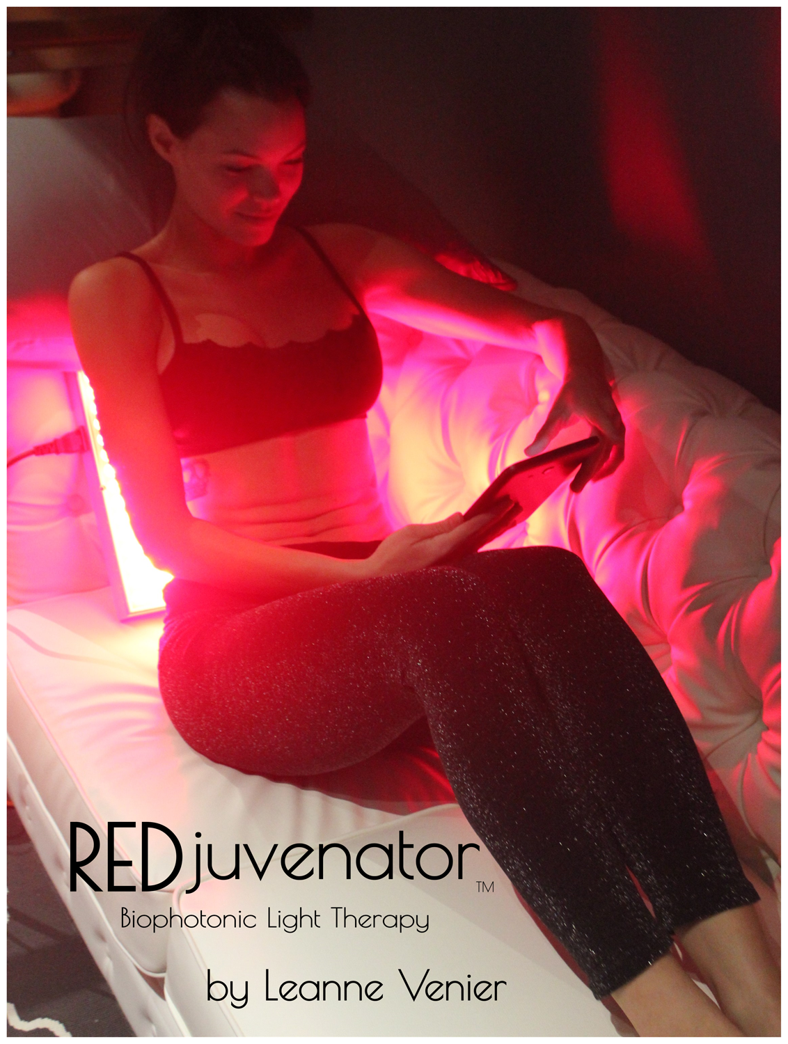 Leanne Venier's REDJuvenator Red Light Therapy & Near Infrared Biophotonic Light Therapy